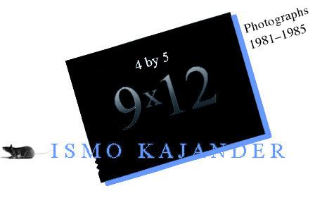 ismo kajander 9x12